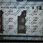 Настройка pick-up для навесной головки HUI 50