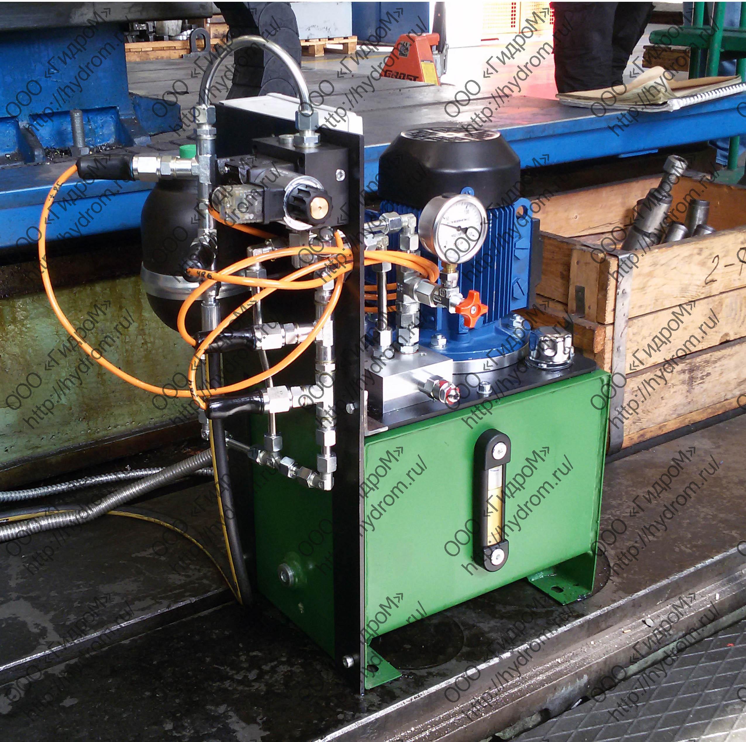 Изготовление гидростанции
